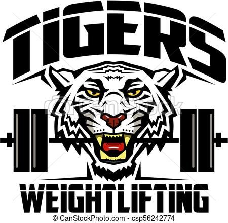 Tigers Weightlifting Csp56242774 Graphics Inspiration Animal Nail Art Tiger