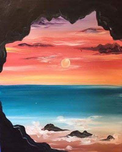 Kunstgemalde Landscape Paintings Acrylic Nature Paintings Art Painting Acrylic