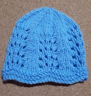 358365aa Marianna's Lazy Daisy Days: Wave of Light Baby Hat | Knitting | Baby ...