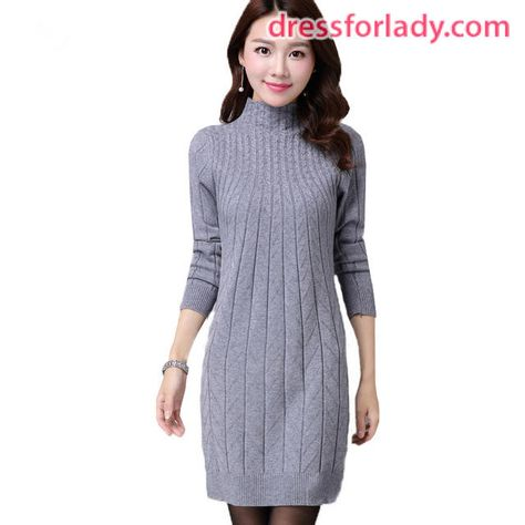New Style Gorgeous Sweater Dresses for Lady | Women sweaters