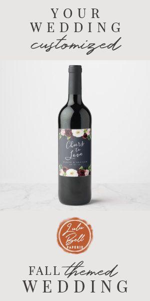 """Midnight Romance """"Cheers to Love"""" Wedding Wine Label #weddingfavorwine #garden #cheersto #blushand #blushpinkandspring #WineLabel #ad"""