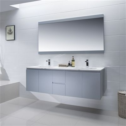 Adams 60 Inch Bathroom Vanity Quartz Stone Vanity With Images