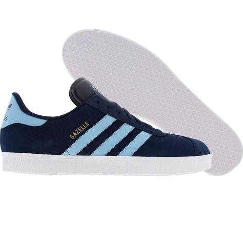Adidas Gazelle 2 (dark indigo / argent blue / white) G44123 ...