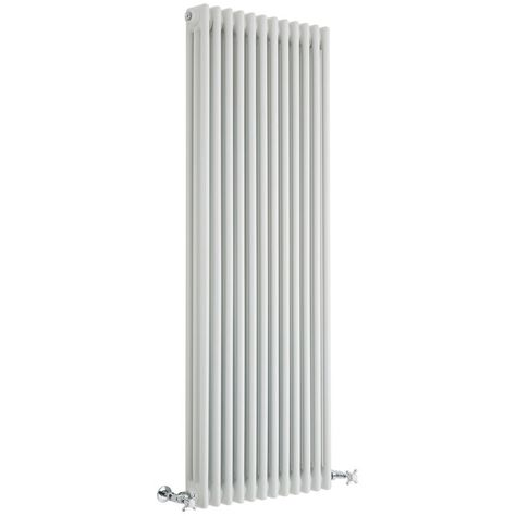 Milano Hudson Reed Windsor 150 x 38cm Radiateur R/étro Vertical Blanc /à Colonnes 2 x 8-1087 Watts