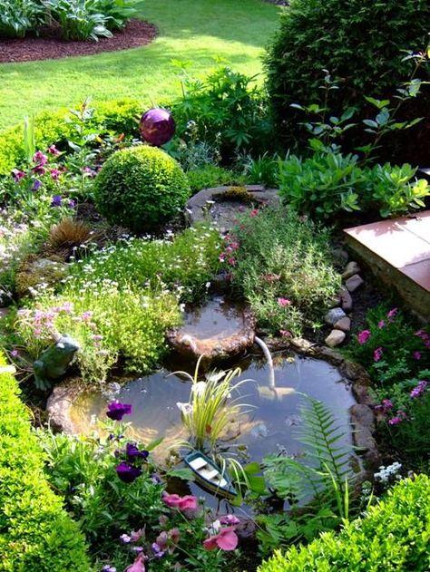 Miniteich An Der Terrasse | Garten | Pinterest | Miniteich