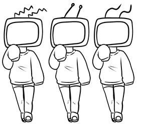 Pin By Ellie Harrell On Chibi Drawings In 2020 Tv Head Drawing Base Art Base