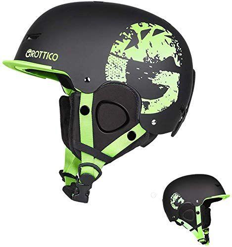 Women /& Youth EN 1077 Certified Safety Matte Finish for Men Extra Mile Ski /& Snowboard Helmet w//Active Ventilation