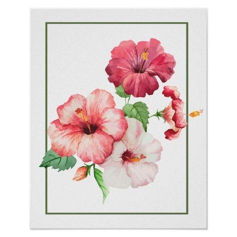 Lukisan Bunga Raya