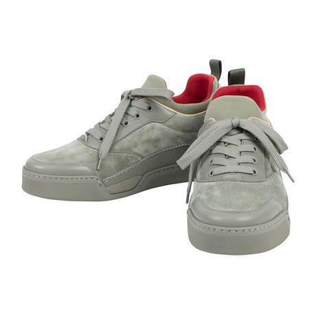 Aurelien Suede Hi-Top Sneakers // Green