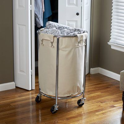 Commercial Round Laundry Hamper Laundry Hamper Household Essentials