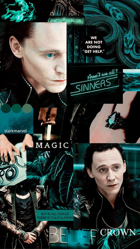 Loki Laufeyson aesthetic wallpaper
