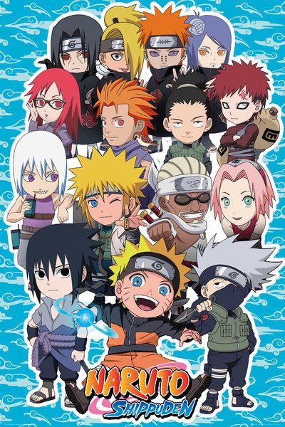 Naruto Shippuden Sd Compilation Poster Print (24 x 36)