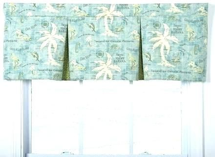 Beach Themed Curtains And Valances Nautical Window Treatments