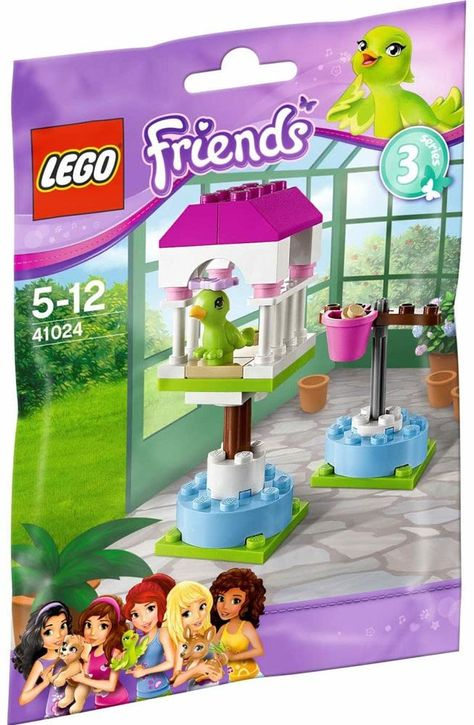 Lego Friends Series 3 Animals Parrots Perch Lego Friends Lego Girls Lego
