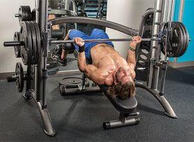 Smith Machine Decline Bench Press Smith Machine Chest Workouts Best Chest Workout