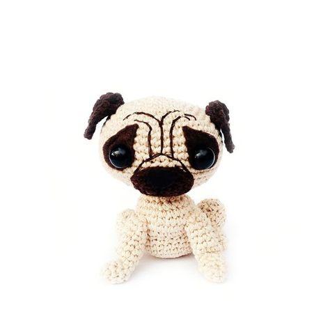 Barry, The Pug - Amigurumi Pattern by DeliciousCrochet   Flickr   474x474