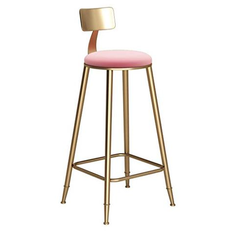 Xfpink Breakfast Chair Pub Bar Stool Faux Leather Dining Chair For Kitchen Is Faux Leather Dining Chairs Home Bar Furniture Dining Room Chairs Modern