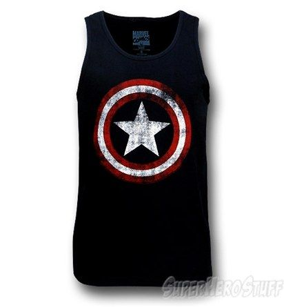 Captain America :) such a cool America Tank!