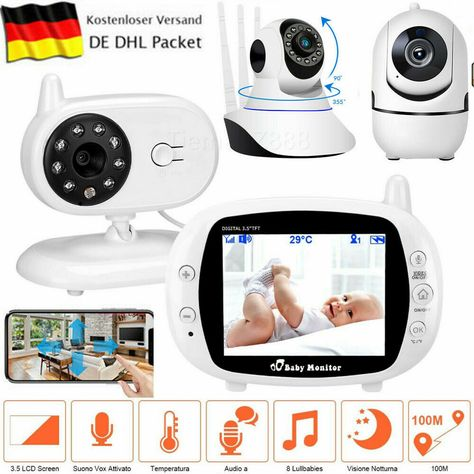 Digital Babyphone Kamera Video Monitor  Kamer Babyviewer babyfon Wireless