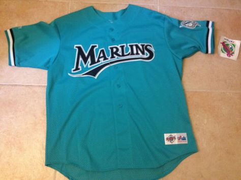 new concept b5665 00be9 shop florida marlins diamond authentic teal 6000 majestic ...