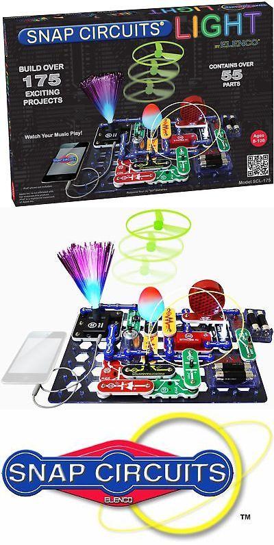 Elenco SCL-175 Snap Circuits LIGHT Electronics Set