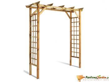 Epingle Par Guilhiem Sur Arche Pergola Petite Pergola Bois