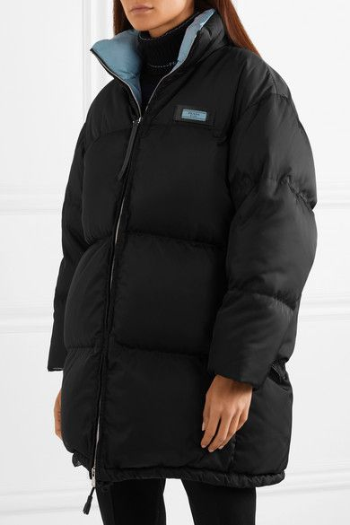 985f544d6 Prada | Oversized quilted shell down jacket | NET-A-PORTER.COM | VIP ...