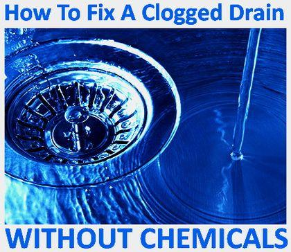 fix clogged drain