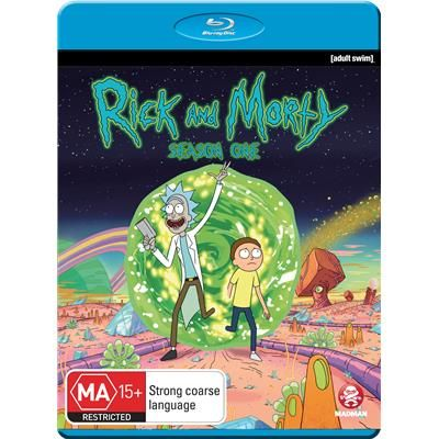 Rick Morty Season 1 Blu Ray Jb Hi Fi Rick And Morty Season Rick And Morty Seasons