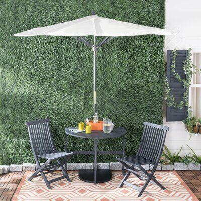 Patio Dining, Outdoor Bistro Set With Umbrella