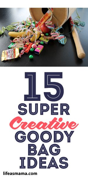 15 Super Creative Goody Bag Ideas