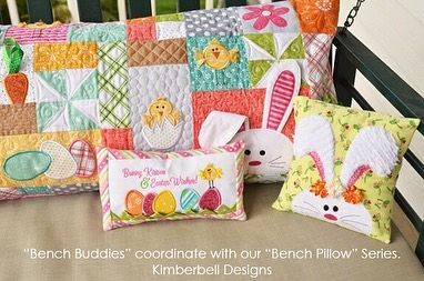 Kimberbell Bench Buddies Embroidery Designs
