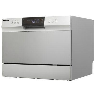 Danby 21 63 54 Dba Countertop Dishwasher Countertop Dishwasher Countertops Portable Dishwasher