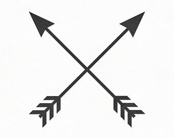 Crossed Arrows Svg Tribal Arrow Svg Arrow Svg Clipart Arrow Etsy Arrow Silhouette Arrow Svg Crossed Arrow Tattoos
