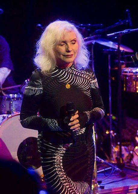 Debbie With Jazz Passengers Nyc Feb 2019 In 2019 Blondie Debbie