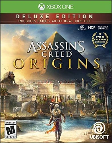 Assassin S Creed Origins Deluxe Edition Xbox One Assassins