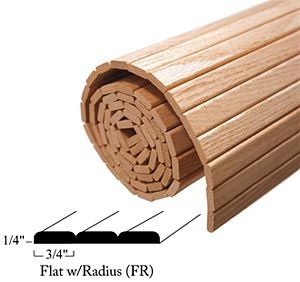 Woodfold Marco Mfg Inc Ct16fr Woodfold 16 406mm Slat Length X 24 610mm Solid Wood Flat Tambour W Radius Edges Each Cherry The Hardware Hut Metal Sheet Design Wooden Artwork Wood