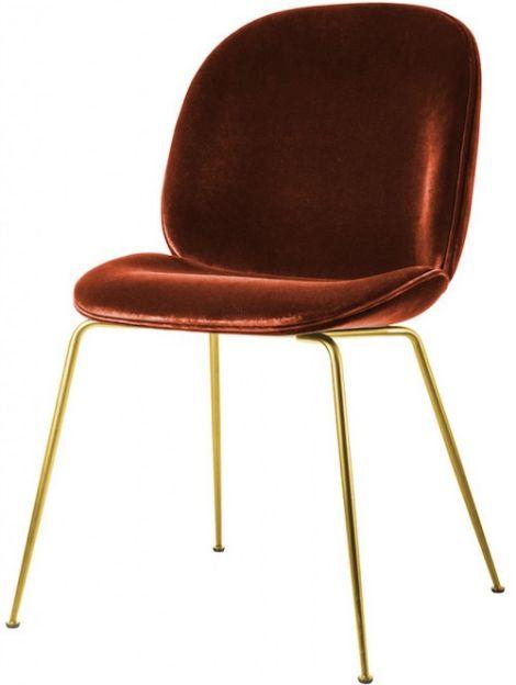 Gubi Beetle Chair Metal Legs Fully Upholstered Shell In 2020 Gubi Beetle Chair Gubi Beetle Dining Chair Beetle Chair