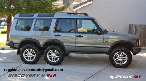 Landrover Discovery 6x6