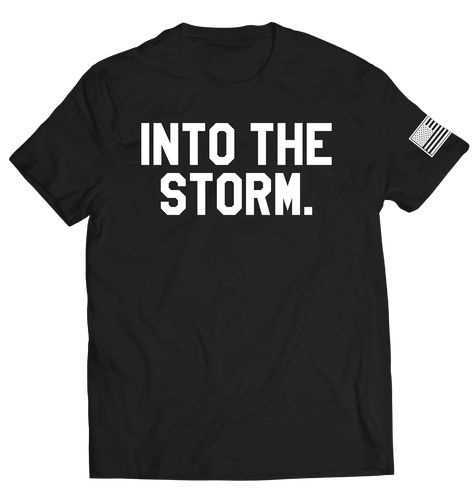 Into the Storm 2.0 Tee // Black - 3XL