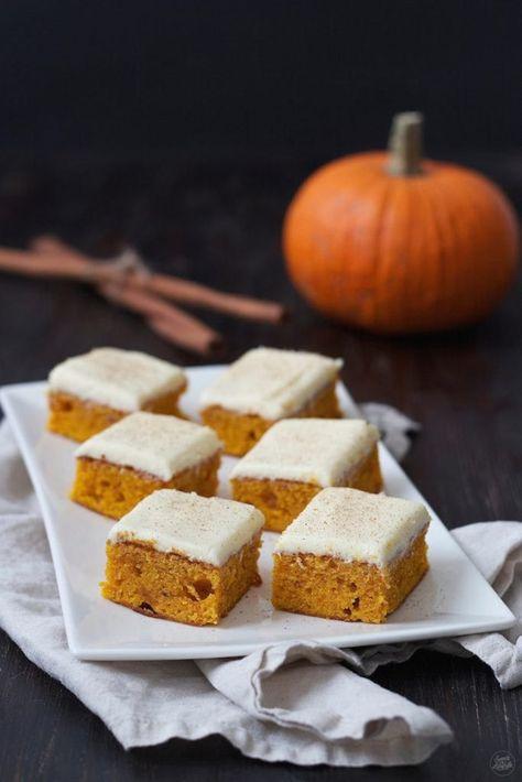 Photo of Kürbiskuchen mit Frischkäsefrosting – Sweets & Lifestyle