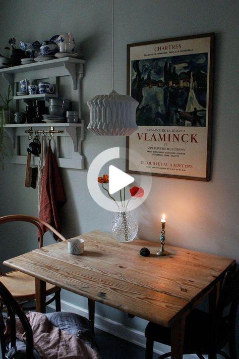 8 petites idées de table de cuisine pour votre maison, #cuisine #idees #maison #petites #table ... #decorationdecuisine #ideesdecuisine