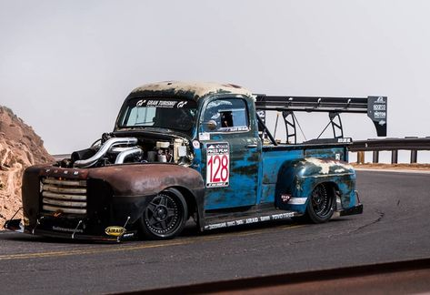 Pikes Peak Hill Climb Record Shattered by a 1949 Ford Truck