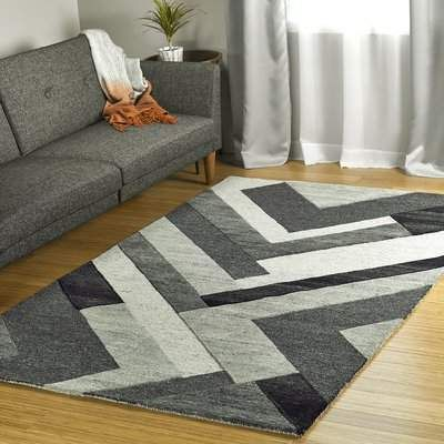 Orren Ellis Wirt Hand Tufted Wool Charcoal Area Rug Area Rugs Brown Area Rugs Rugs