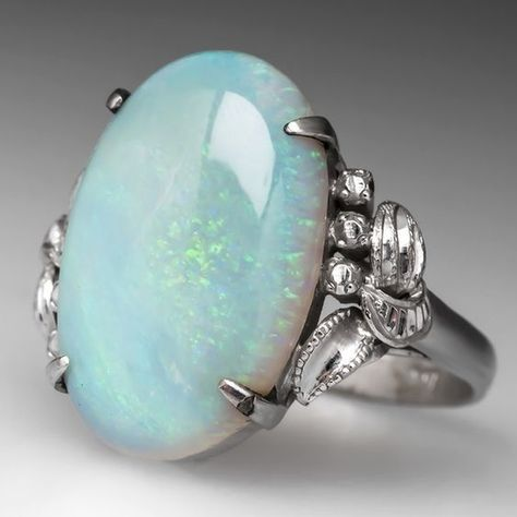 Large White Moonstone Bright Silver Rings for Women Grils Wedding Ring Luxury Jewelry Classic Bague Femme Mujer Anillos