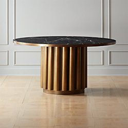 Rocco Rectangular Marble Dining Table Blackmarbletablelivingroom Dining Marble Rect Dining Table Marble Round Concrete Dining Table Concrete Dining Table