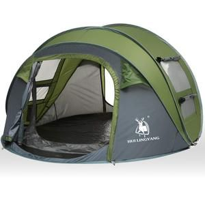 4 Person Easy Pop Up Tent Automatic Setup Sun Shelter for