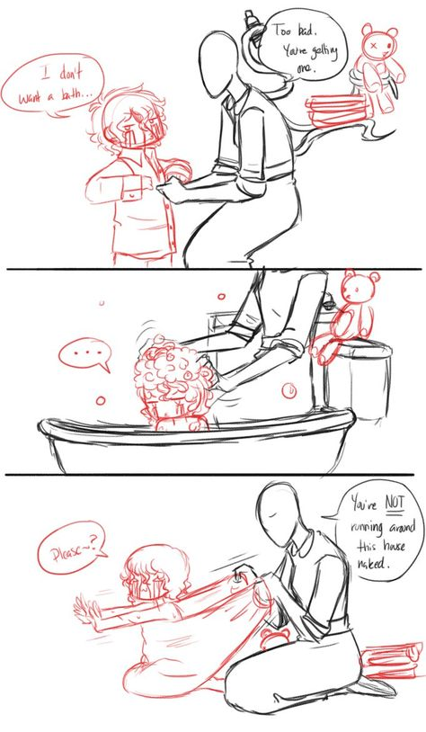 Bath for Sam by La-Mishi-Mish
