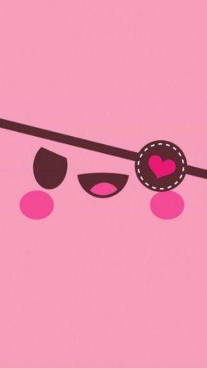Wallpaper Lucu Warna Pink