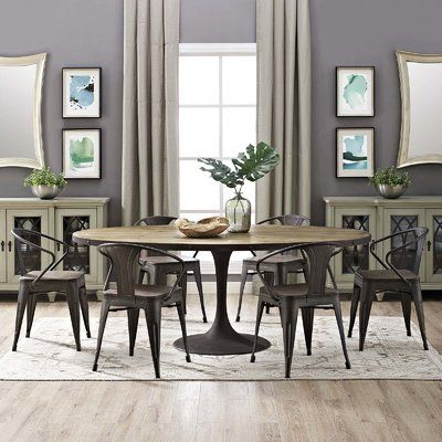 Greyleigh Amherst Dining Table Dining Table In Kitchen Dining